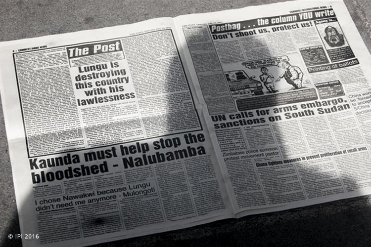 Newspaper zambia