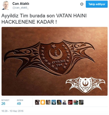 Ayyildiz Tim burada son vatan haini hacklenene kadar! / Ayyildiz team is here until the last traitor is hacked!