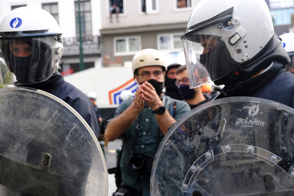Fresh attacks worsen climate of hostility against journalists covering protests across Europe