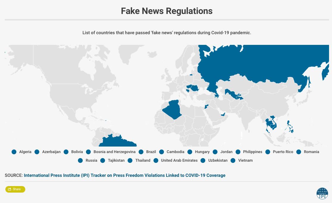 Tajikistan passes coronavirus 'fake news' law